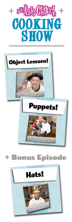 Kidology Training Video: Object Lessons and Puppets Bundle
