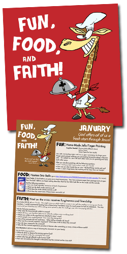 Fun, Food, & Faith Family Devotionals