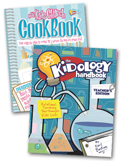 Kidology Handbook/Cookbook Combo Special