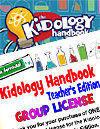 The Kidology Handbook: Teacher's Edition - License for 50 Readers