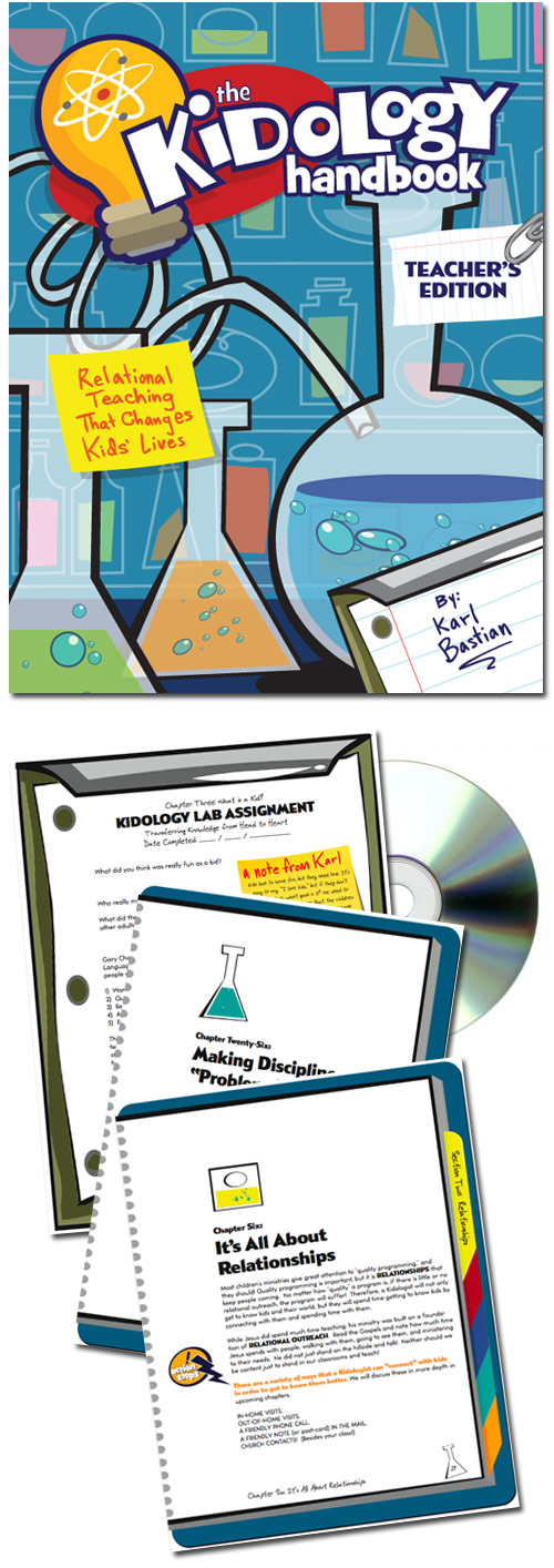 <i>The Kidology Handbook: Teacher's Edition</i> - CD-ROM w/PDF and Audiobook - PRE-ORDER