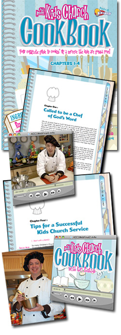 The Kids Church Cookbook: #1 - Called to be a Chef of God's Word
