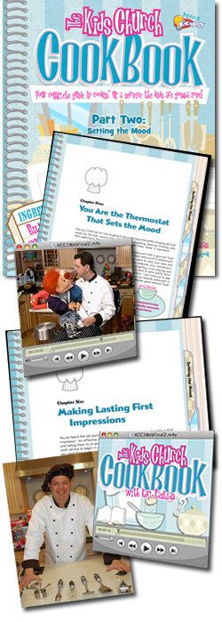 <i>The Kids Church Cookbook</i>: #2 - Setting the Mood
