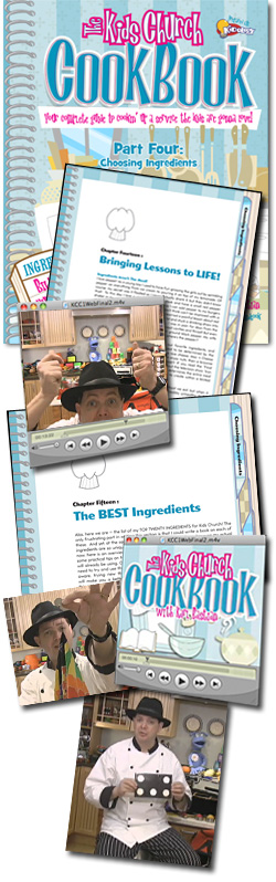 <i>The Kids Church Cookbook</i>: #4 - Choosing Ingredients