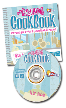 <i>The Kids Church Cookbook </i>CD-ROM
