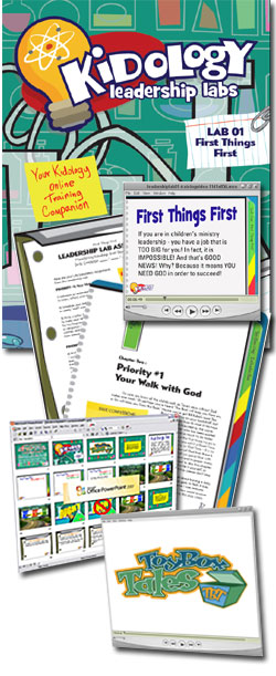 Kidology Leadership Lab Download Kit: #1 - First Things First