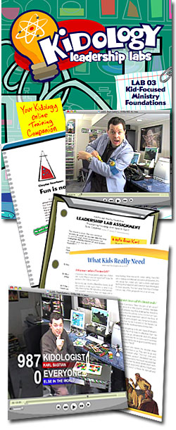 Kidology Leadership Lab Download Kit: #3 - Kid-Focused Ministry Foundations