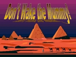 Kidology's Don't Wake The Mummy PowerPoint Game