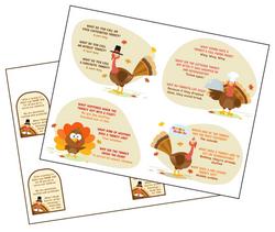 Recruiting Tool #11 - Turkey Jokes Postcards
