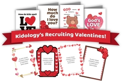 Recruiting Tool #02 - Valentine's Recruiting Cards