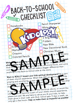 Recruiting Tool #08 - Back to School Checklist