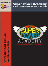 Kidology's Super Power Academy Kids' Church Teaching Unit Download