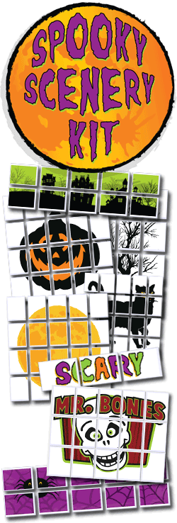 <i>Spooky Scenery Kit</i>