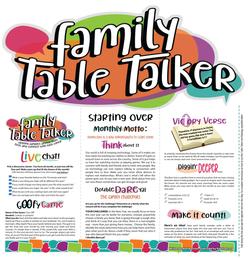 Family Table Talker #01 - Starting Over