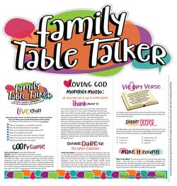 Family Table Talker #02 - Loving God
