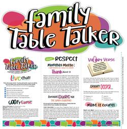 Family Table Talker #03 - Respect