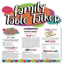 Family Table Talker #04 - Gentleness