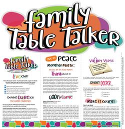 Family Table Talker #05 - Peace