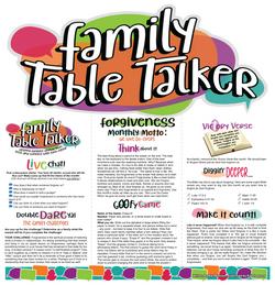 Family Table Talker #08 - Forgiveness
