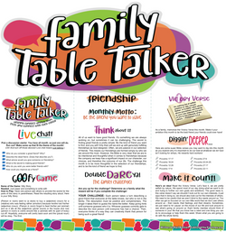 Family Table Talker #10 - Friendship