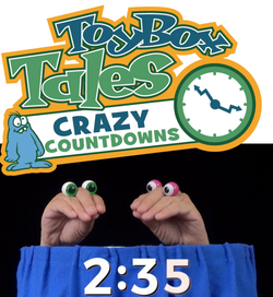 Toybox Tales Crazy Countdown Videos Set #09 - Peepers 10 Commands