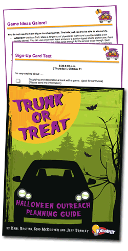 kidology trunk or treat halloween outreach planning