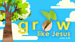 Kids Power Company <i>Grow Like Jesus</i> Kids' Church Curriculum (Traditional Manual)