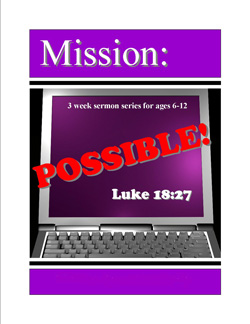 Kids Power Company Mission Possible Kids' Church Curriculum Download