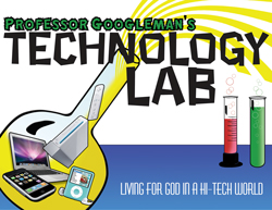Kids Power Company Professor Googleman's Technology Lab Kids' Church Curriculum Download