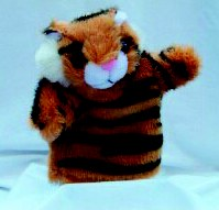 Tiny Tiger Puppet