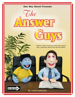 Creative Ministry Solutions The Answer Guys Pre-Recorded Puppet Scripts