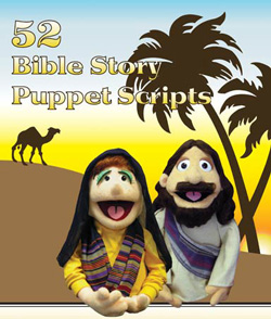 Creative Ministry Solutions 52 Bible Story Puppet Scripts
