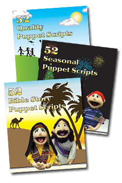 Creative Ministry Solutions  Puppet Script Book Bundle