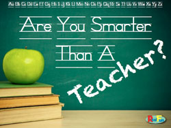 RealFun <i>Are You Smarter than a Teacher</i> PowerPoint Download