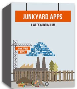 River's Edge <i>Imagination Factory: Junkyard Apps</i> Curriculum Download