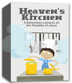 River's Edge Heaven's Kitchen Kids Church Curriculum Download
