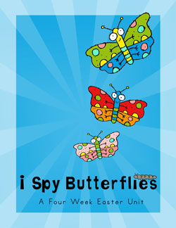 River's Edge I Spy Butterflies Easter Preschool Curriculum Download