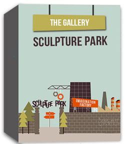 River's Edge Imagination Factory: The Gallery - Sculpture Park  Curriculum Download