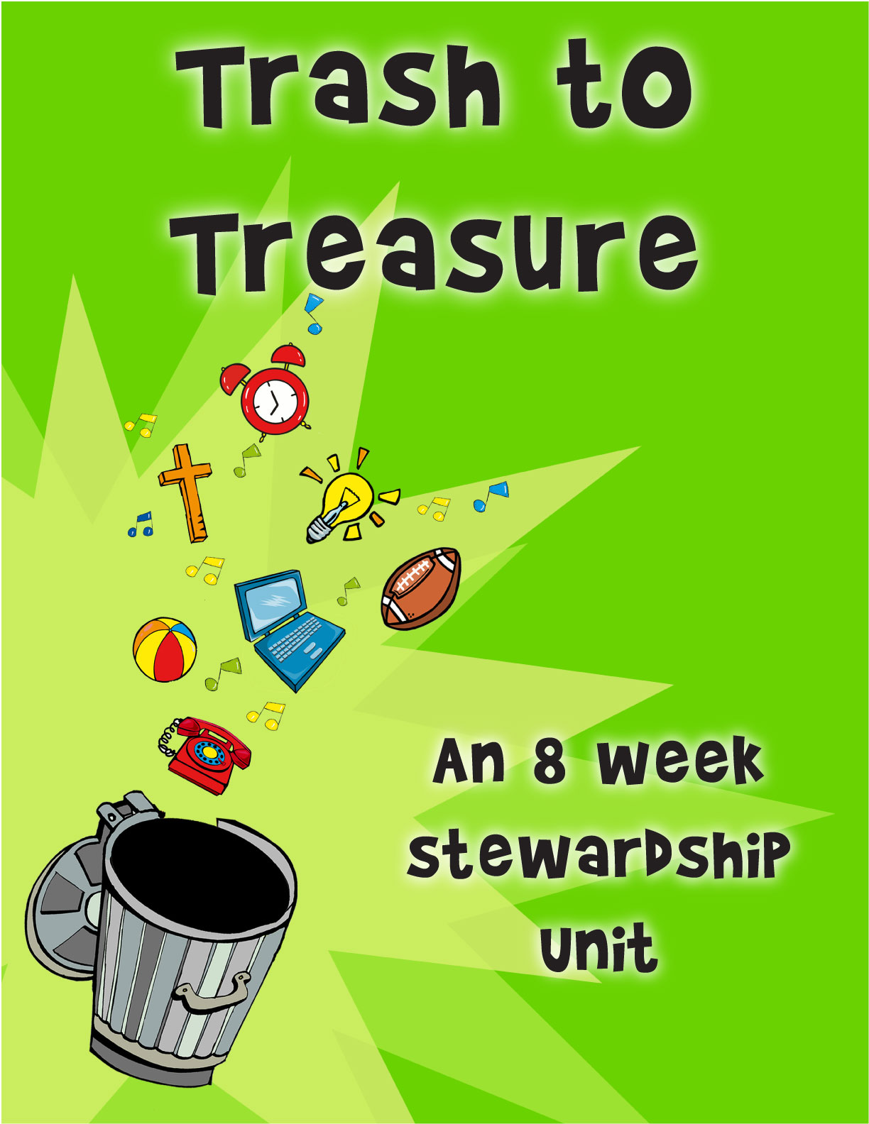 River's Edge <i>Trash to Treasure</i> Kids Church Curriculum Download