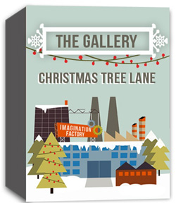 River's Edge Imagination Factory: The Gallery - Christmas Tree Lane  Curriculum Download
