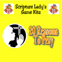 Scripture Lady <i> The Twenty Reasons to Pray</i> Game
