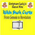 Scripture Lady <i> Bible Book Cards</i> Game