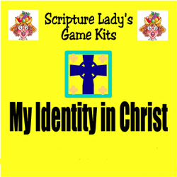 Scripture Lady  My Identity in Christ Game