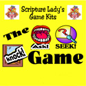 Scripture Lady <i> The Knock Ask Seek</i> Game