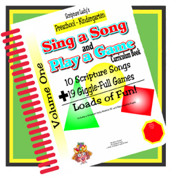 Scripture Lady  Sing a Song and Play a Game Book Volume One