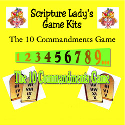 Scripture Lady  The Ten Commandments Game
