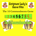 Scripture Lady <i> The Ten Commandments</i> Game