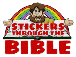 Stickers Through the Bible - 1st Quarter