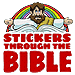 Stickers Through the Bible - 2nd Quarter