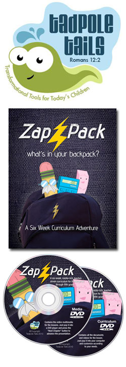 Tadpole Tails Zap Pack 6-week Curriculum